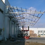 Metallic structures and constructions-Alfa Rom Carpati Industrial Grup